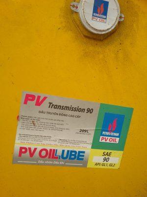 PV Transmission 90 EP GL5. 209 Lít  – hotline: 0985864106