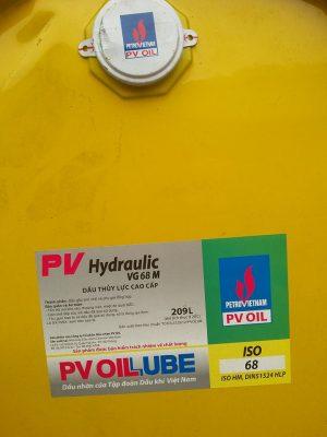 PV Hydraulic VG 9 M dầu thủy lực can 18 lít và 209 lít 1 phuy ( hotline: 0985.864.106 )