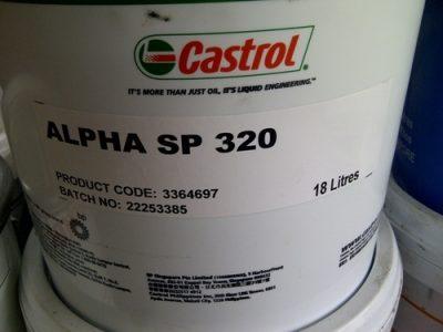Castrol Alpha SP 320/ 18 lít, 209 lít/ hotline: 0985864106