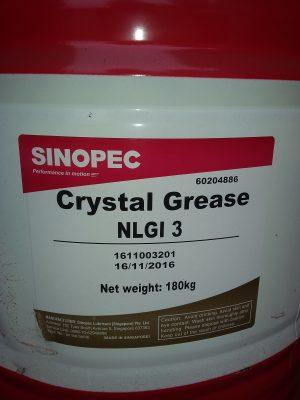 MỠ SINOPEC NLGI3 = 18KG/1 Phuy – Hotline: 0985.864.106